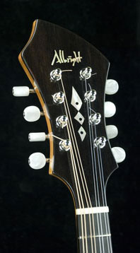 Albright Mandolin head piece